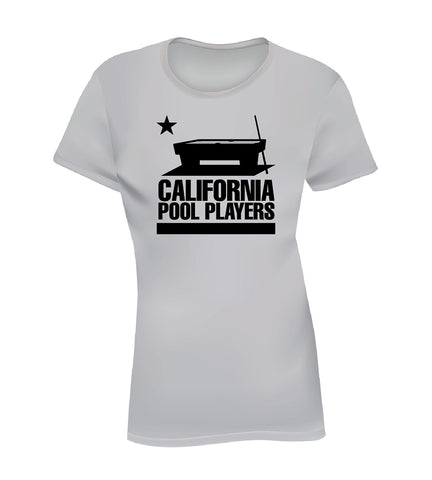 CALIFORNIA POOL PLAYERS (Women's Tee) - Gray
