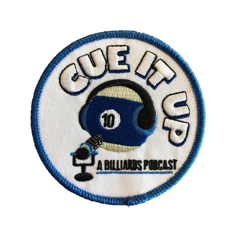 CUE IT UP (3x3 Patch)