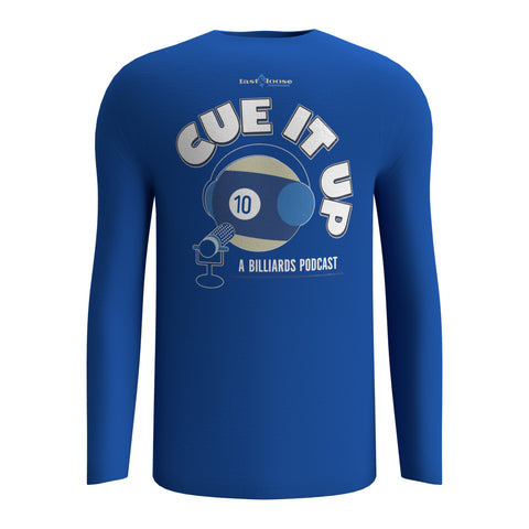 CUE IT UP (Long Sleeve) - Royal