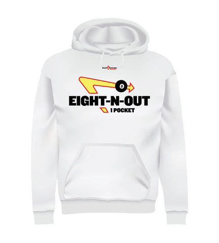 EIGHT-N-OUT (Hoodie) - White