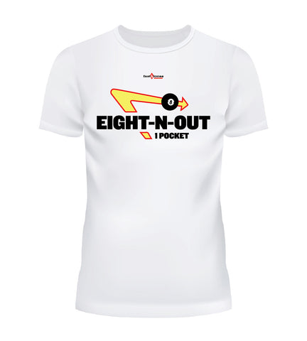 EIGHT-N-OUT - White
