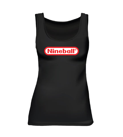 NINEBALL (Women's Tank) - Black