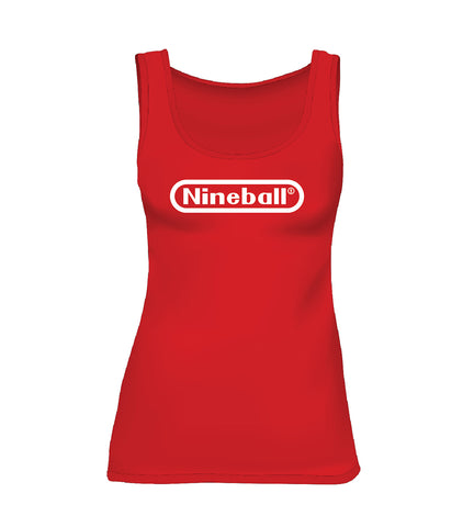NINEBALL (Women's Tank) - Red