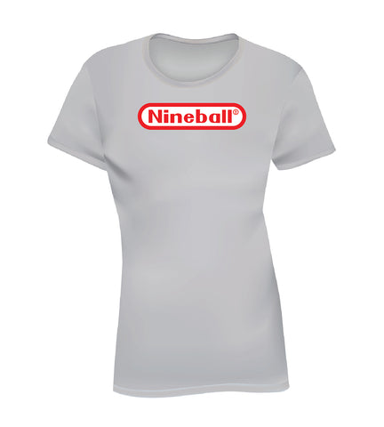 NINEBALL (Women's Tee) - Gray