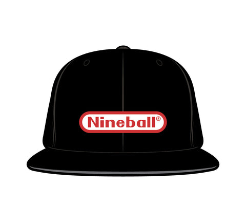 NINEBALL FLEXFIT CAP (BLACK)