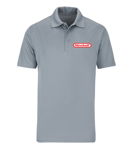 NINEBALL (Men's Polo) - Gray