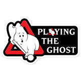 PLAYING THE GHOST (Sticker 2)
