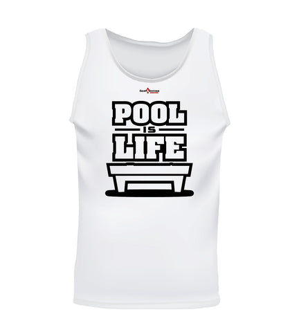 POOL IS LIFE (Men's Tank)