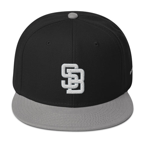 South Bay 8 Ball (Snapback Cap) - Black