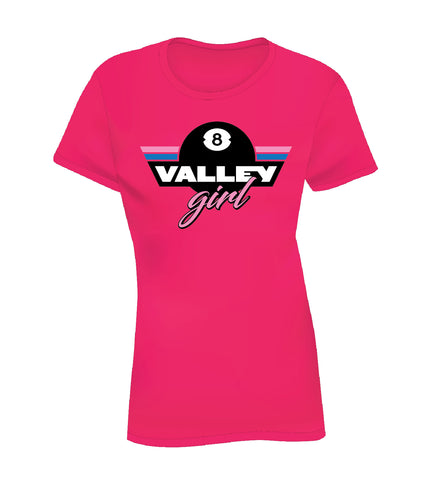 VALLEY GIRL (Women's Tee) - Pink