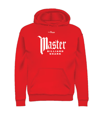 MASTER BILLIARD SHARK (Hoodie) - Red