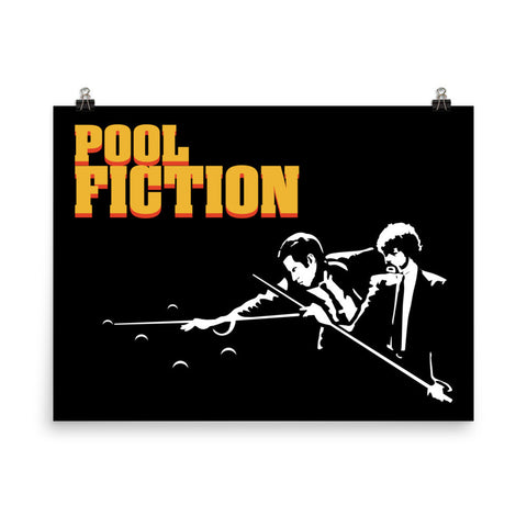 POOL FICTION 2 POSTER
