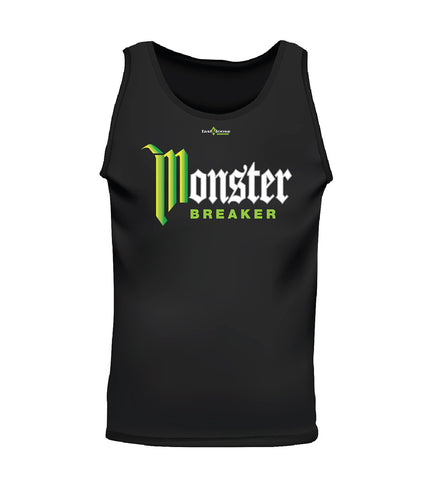 MONSTER BREAKER (Men's Tank) - Black