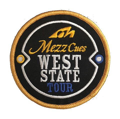 MEZZ WEST STATE TOUR OFFICIAL PATCH