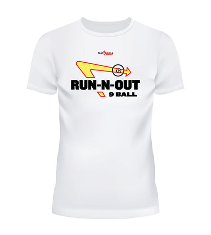 RUN-N-OUT 9 BALL - White
