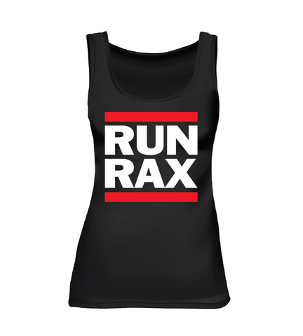 RUN RAX (Women's Tank) - Black