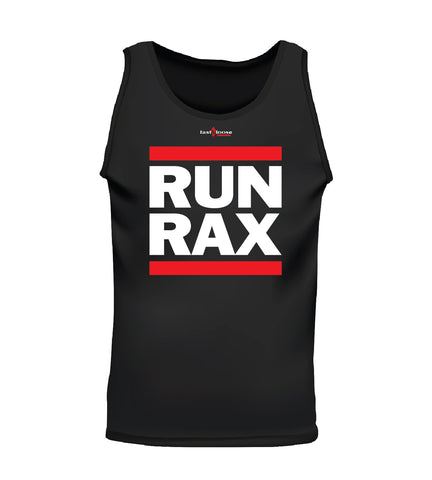RUN RAX (Men's Tank) - Black