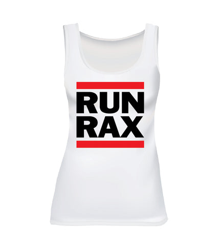 RUN RAX (Women's Tank) - White