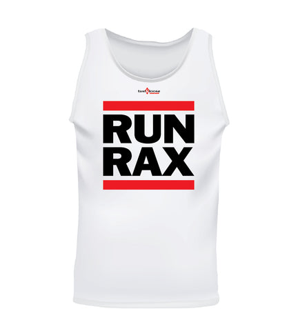 RUN RAX (Men's Tank) - White