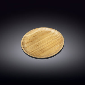 [A] Natural Bamboo Plate 5"