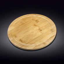 [A] Natural Bamboo Serving Board 13"