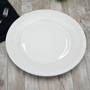 [A] Fine Porcelain Dinner Plate 10"