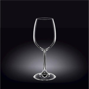 [E ***] Full-Bodied Red Wine  Crystalline Glass 12 Oz | 350 Ml Set Of 6 In Plain Box WL-888012/6A
