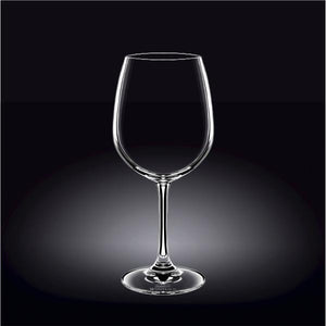 [E ***] Pinot Noir Wine Glass 14 Oz | 420 Ml Set Of 6 In Plain Box WL-888014/6A