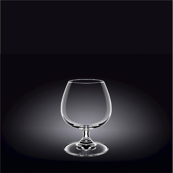 COGNAC GLASS 14 OZ | 410 ML SET OF 6IN WHITE BOX - WILMAX PORCELAIN WILMAX