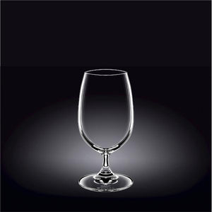 BEER/WATER GLASS 14 OZ | 420 MLSET OF 6IN WHITE BOX - WILMAX PORCELAIN WILMAX