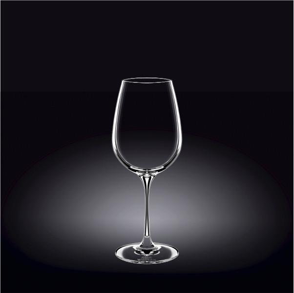 [E ***] Pinot Nior  Crystalline Wine Glass 16 Oz | 470 Ml Set Of 2 In Color Box WL-888033/2C