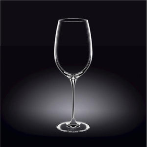 [E ***] Cabernet Sauvignon  Crystalline Wine Glass 25 Oz | 740 Ml Set Of 2 In Colour Box WL-888038/2C