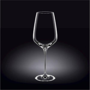 [E ***] Large  Crystalline  Riesling Sweet Wine Glass 26 Oz | 780 Ml Set Of 2 In Colour Box WL-888041/2C