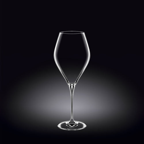 [E ***] Wine Glass 14 Oz | 420 Ml Set Of 2 In Colour Box WL-888045/2C