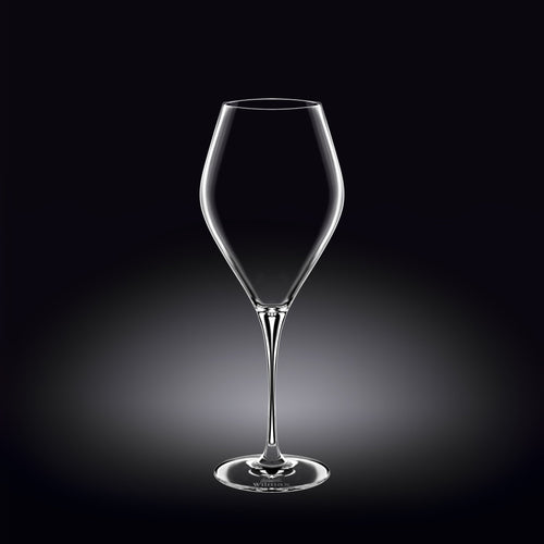 [D **] Tulip Riesling Sweet White Wine Glass 19 Oz | 540 Ml Set Of 2 In Colour Box WL-888046/2C