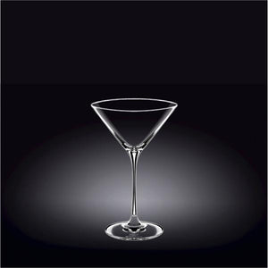 [E ***] Martini  Crystalline Glass 10 Oz | 290 Ml Set Of 2 In Colour Box WL-888053/2C