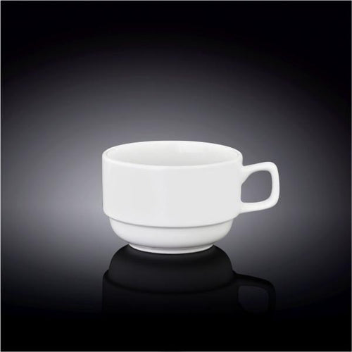 COFFEE CUP 3 OZ | 100 ML - WILMAX PORCELAIN WILMAX