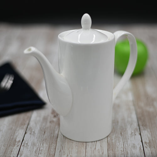 [A] Fine Porcelain Coffee Pot 22 Oz | 650 Ml WL-994008/A