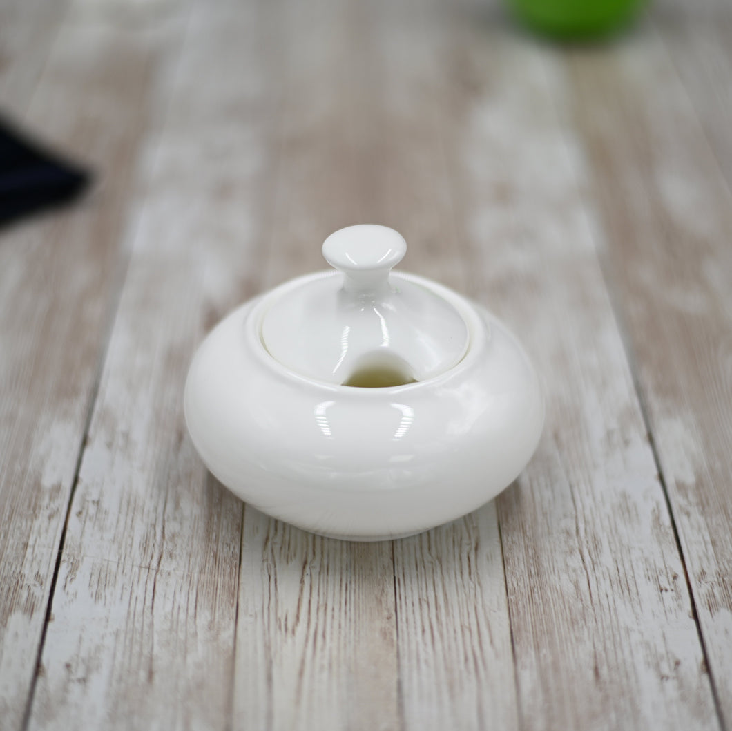 [D **] Fine Porcelain Sugar Bowl 8 Oz | 250 Ml WL-995021/A