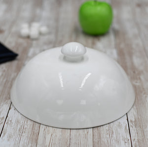 [D **] Fine Porcelain Lid For Main Course 8"
