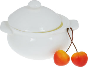 [D **] Fine Porcelain Baking Pot 12 Oz | 350 Ml WL-997000/A