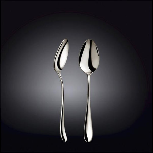 [A] High Polish Stainless Steel Dessert Spoon 7.5