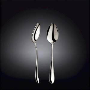 [A] High Polish Stainless Steel Dessert Spoon 7.5"