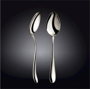 [D **] High Polish Stainless Steel Serving Spoon 9.25"