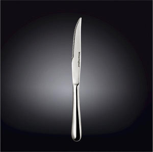 [A] High Polish Stainless Steel Steak Knife  9.25"
