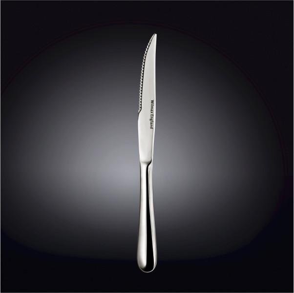 [A] High Polish Stainless Steel Steak Knife  9.25