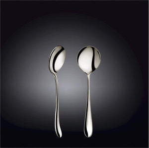 [A] High Polish Stainless Steel Soup Spoon 7"