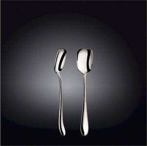 [D **] High Polish Stainless Steel Ice Cream Spoon 5.75"