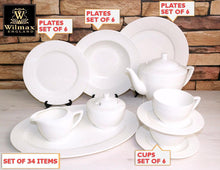 Julia Fine Dinning 34 Piece Entertaining Set For 6 WL-555001