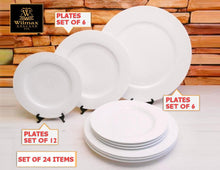 Fine Dinning 24 Piece Professional Entertaining Set For 6 WL-555002